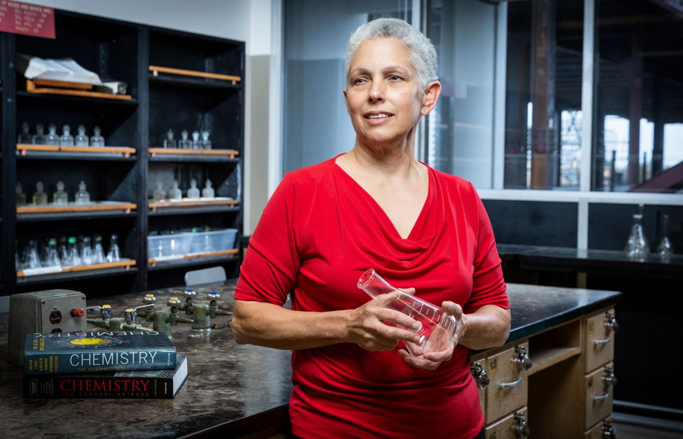 Karen Singmaster, chair of SJSU's Department of Chemistry.