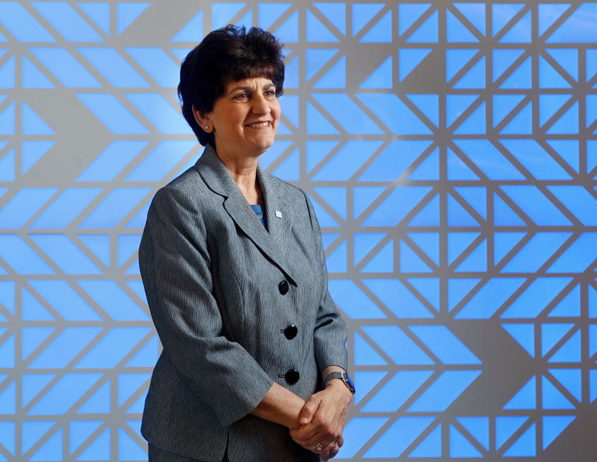 President Mary A. Papazian.