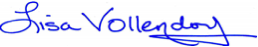 Lisa Vollendorf Signature