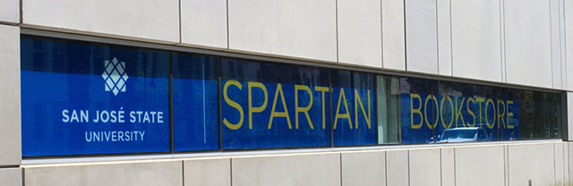 Spartan Bookstore temporary location