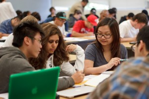 SJSU students in classroom