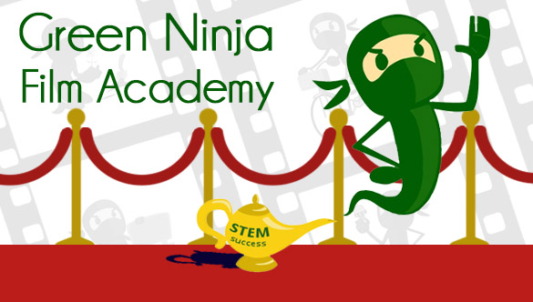 A grant will fund the Green Ninja Film Academy.