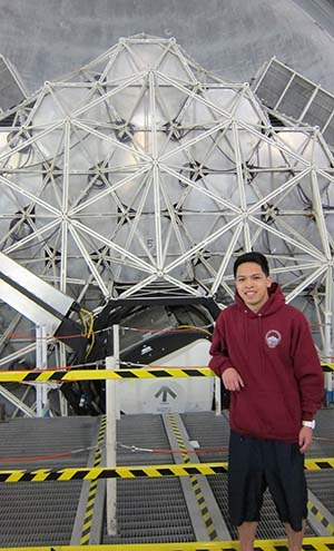 Richard Vo, a recent graduate of SJSU, had a discovery he made as an undergraduate published in a journal of astrophysics in Summer 2015.