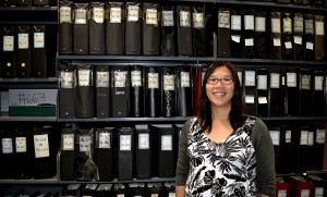 Emily Chan is one of three university librarians who received an Emeritus and Retired Faculty Association Faculty Research and Creative Activity Award to digitize a reference archive.