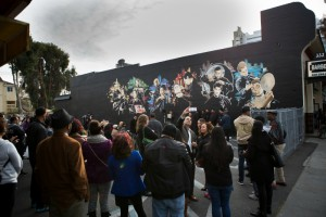 Associate Professor Michael Cheers was interviewed by the San Jose Mercury News at the unveiling of a downtown mural.