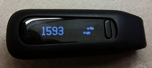 "This Fitbit is an example of the ""Internet of Things"" as a device that collects and shares data."