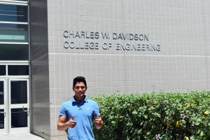 Edgar Sanchez Lopez is a second-year civil engineering student who received TheDream.Us scholarship.