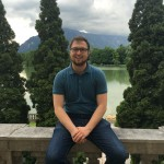 Aaron Friedmna, an SJSU Salzburg Scholar, poses for a picture in Austria.