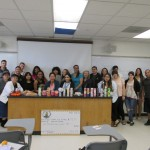 Justice Studies students decorated candles and raised money to support grief and crisis counseling for local kids.