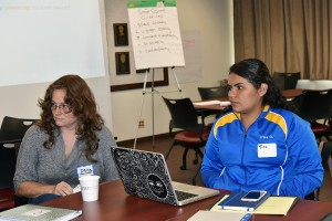 About two dozen students, faculty and staff members gathered on Sept. 9 to discuss how to expand mentor programs at San Jose State University.