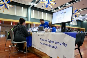 San Jose State University hosts the 2016 Innovation and Collaboration Technology Expo at the Diaz Compean Student Union Ballroom in San Jose, CA. on Wednesday, Oct. 5. (Photo: Christina Olivas)