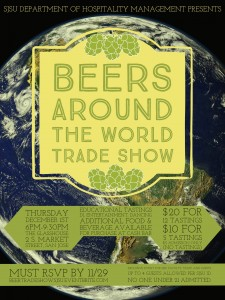 Beers Around the World Trade Show 2016