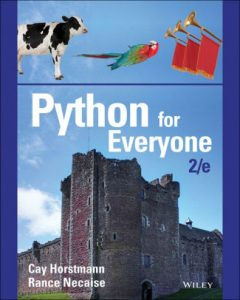 Python for Everyone book cover.