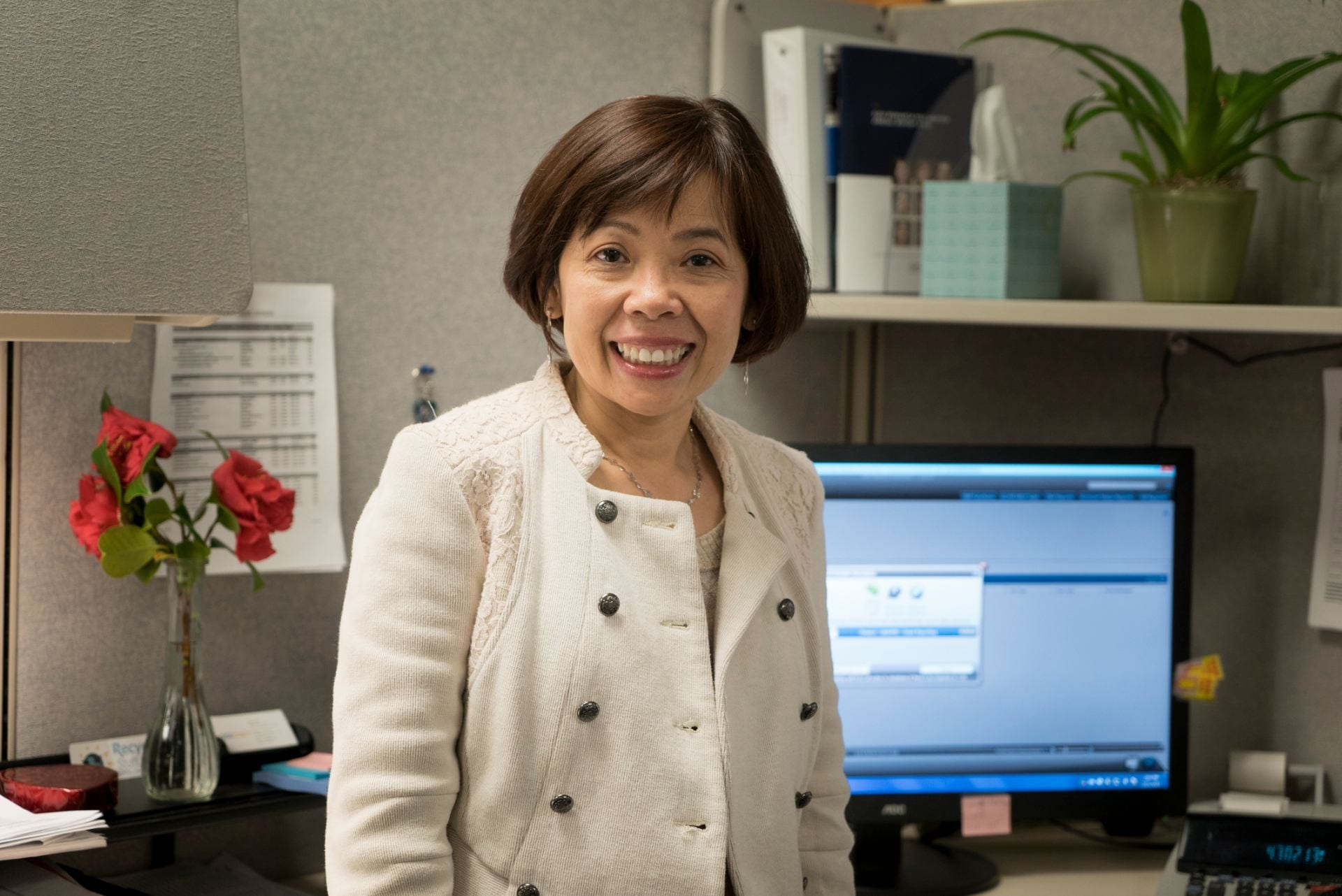 Luann Chu both works as a post-award manager at the SJSU Research Foundation.