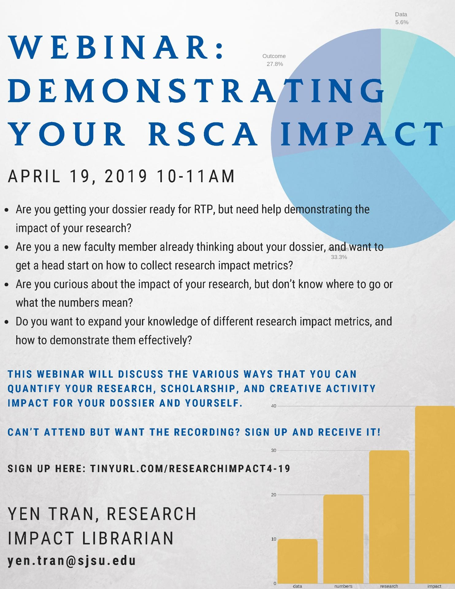 Research Impact Flier
