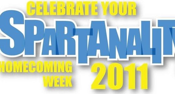 """Spartanlity"" homecoming mark"