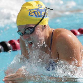 Swimming sjsu newsroom - San jose state university swimming pool ...