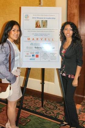Diana Pham (left) Tanya D'Silva (right)