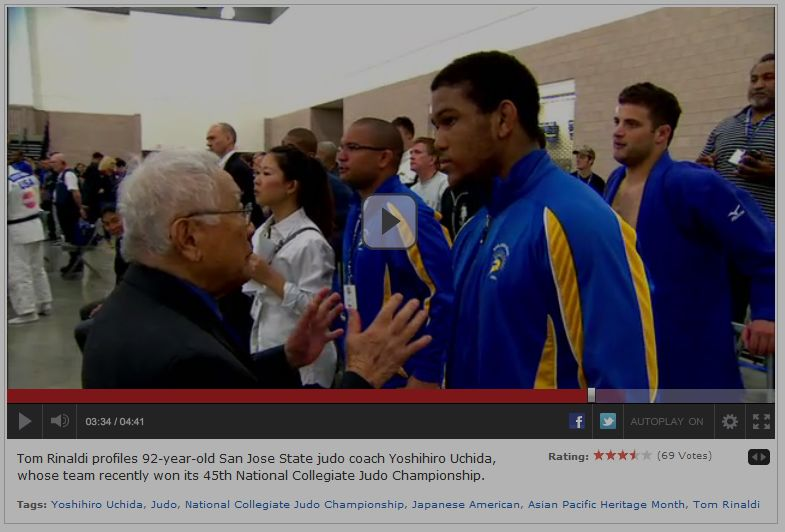 ESPN: Sports Network Profiles SJSU Alumnus Yosh Uchida, 92, Judo Champion