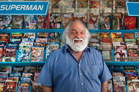 A Singing Comic Book Retailer