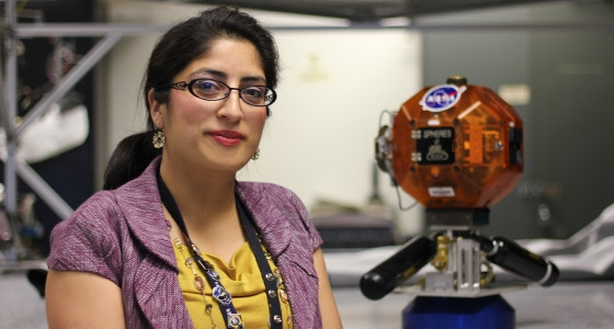 "Spartans at Work: At NASA Ames, ""I'm Pursuing My Childhood Dream"""