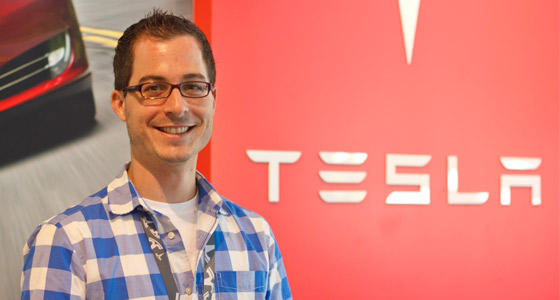 "Spartans at Work: At Tesla, ""It's Just a Great Work Environment to Learn and to Challenge Yourself"""