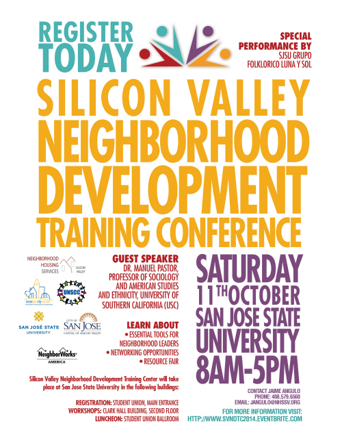 neighborhood conference poster