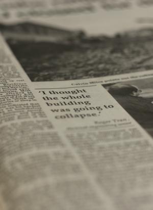 Spartan Daily quake story