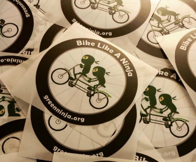 Green Ninja stickers