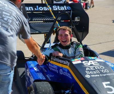 Spartan Racing driver
