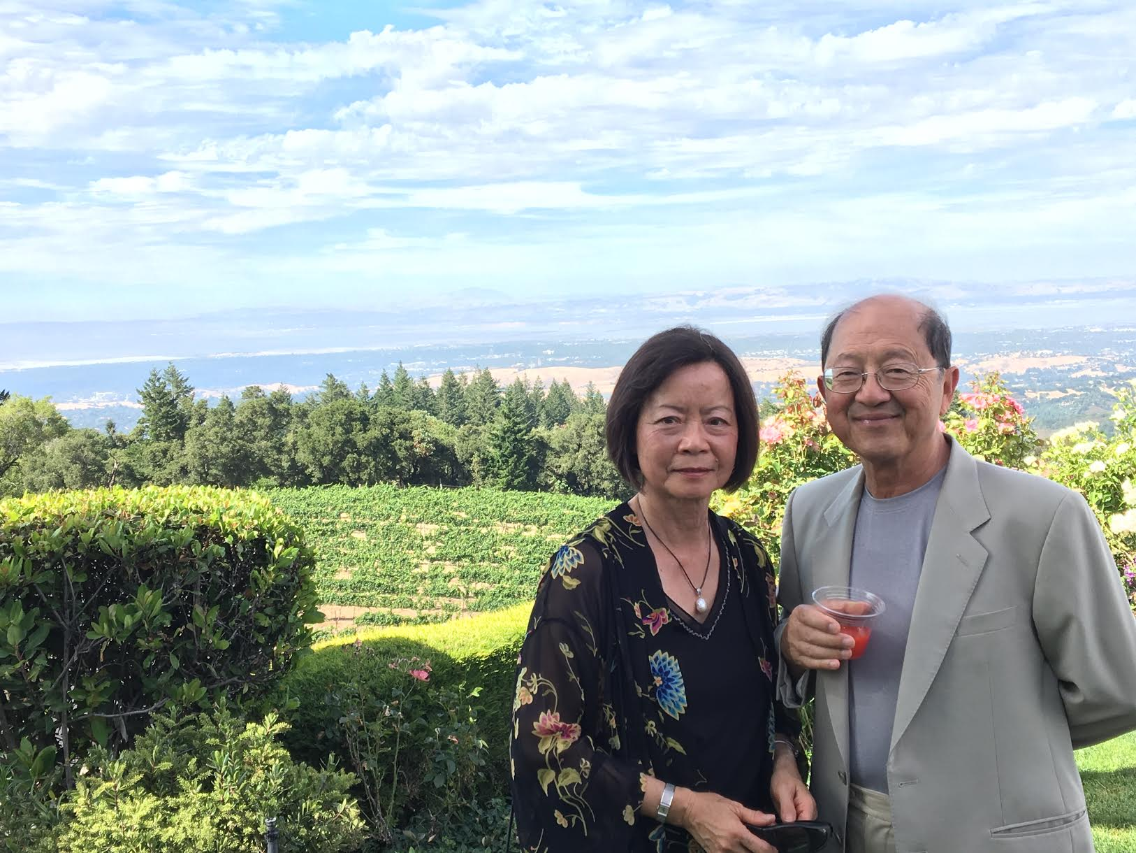 Gloria and Michael Chiang (photo courtesy of the Chiangs)