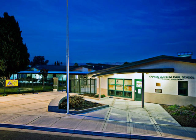 A San Jose elementary school was renamed in Capt. Dahl's honor (Photo: Sugimura Finney Architects).