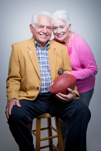 Larry and Deirdre Solari (photo by David Schmitz)