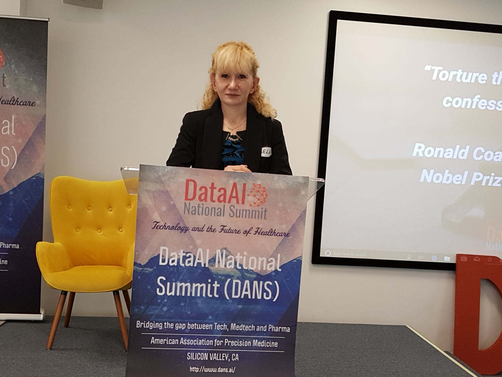Lela Mirtskhulava was a featured speaker at DataAI National Summit (DANS), Silicon Valley organized by American Association of Precision Medicine and presented the results of the project she has been working since arriving at San Jose State as a Fulbright Scholar.