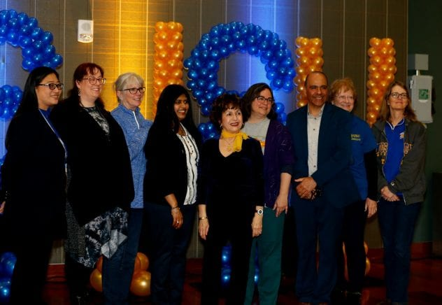The 51st Annual Spartan Service Celebration, recognized 133 employees for 15, 20, 25, 30, 35 and 40 years of service. The ceremony was held at the Student Union Ball room, San Jose State University in San Jose, Calif., on Thursday, March 7, 2019. ( Josie Lepe/San Jose State University )