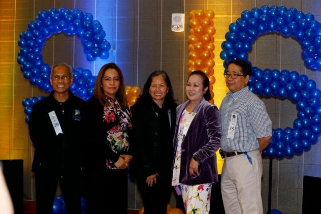 Honorees and friends pose for a picture during the Spartan Service Celebration. ( Josie Lepe/San Jose State University )