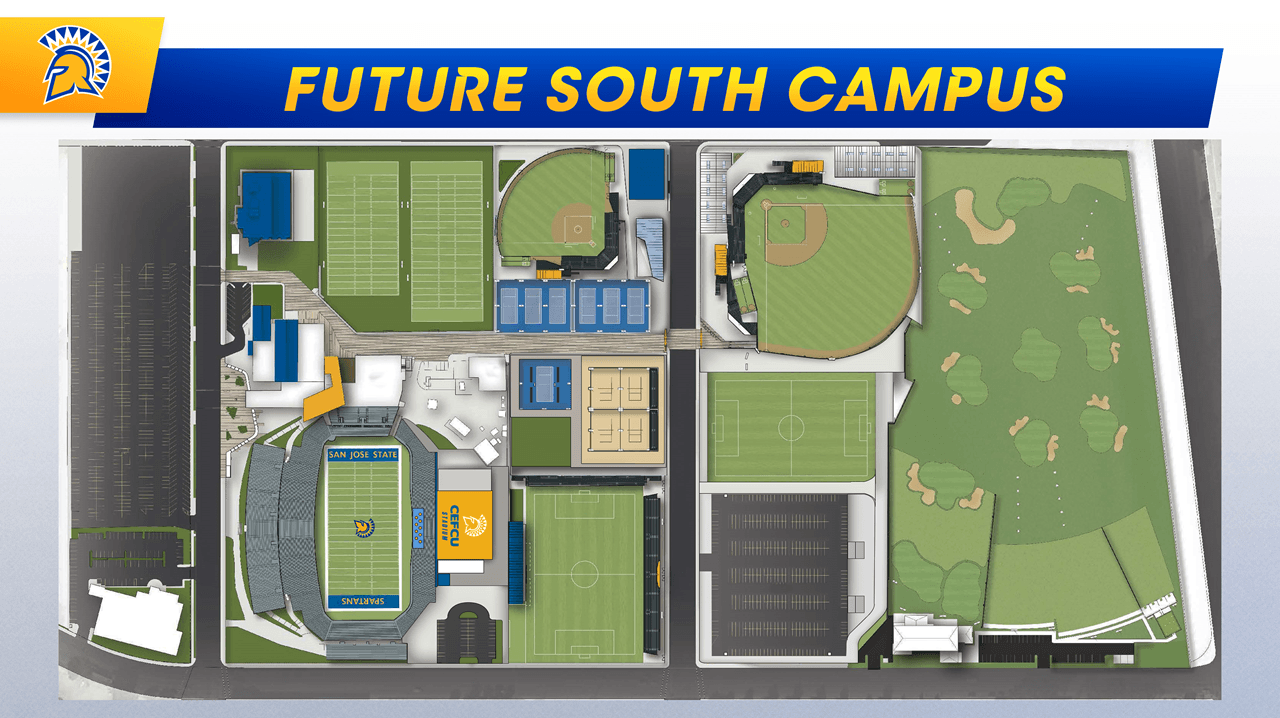 SJSU South Campus   SJSU Newsroom on gcc az, gcc college ma campus map, cloud county community college campus map,