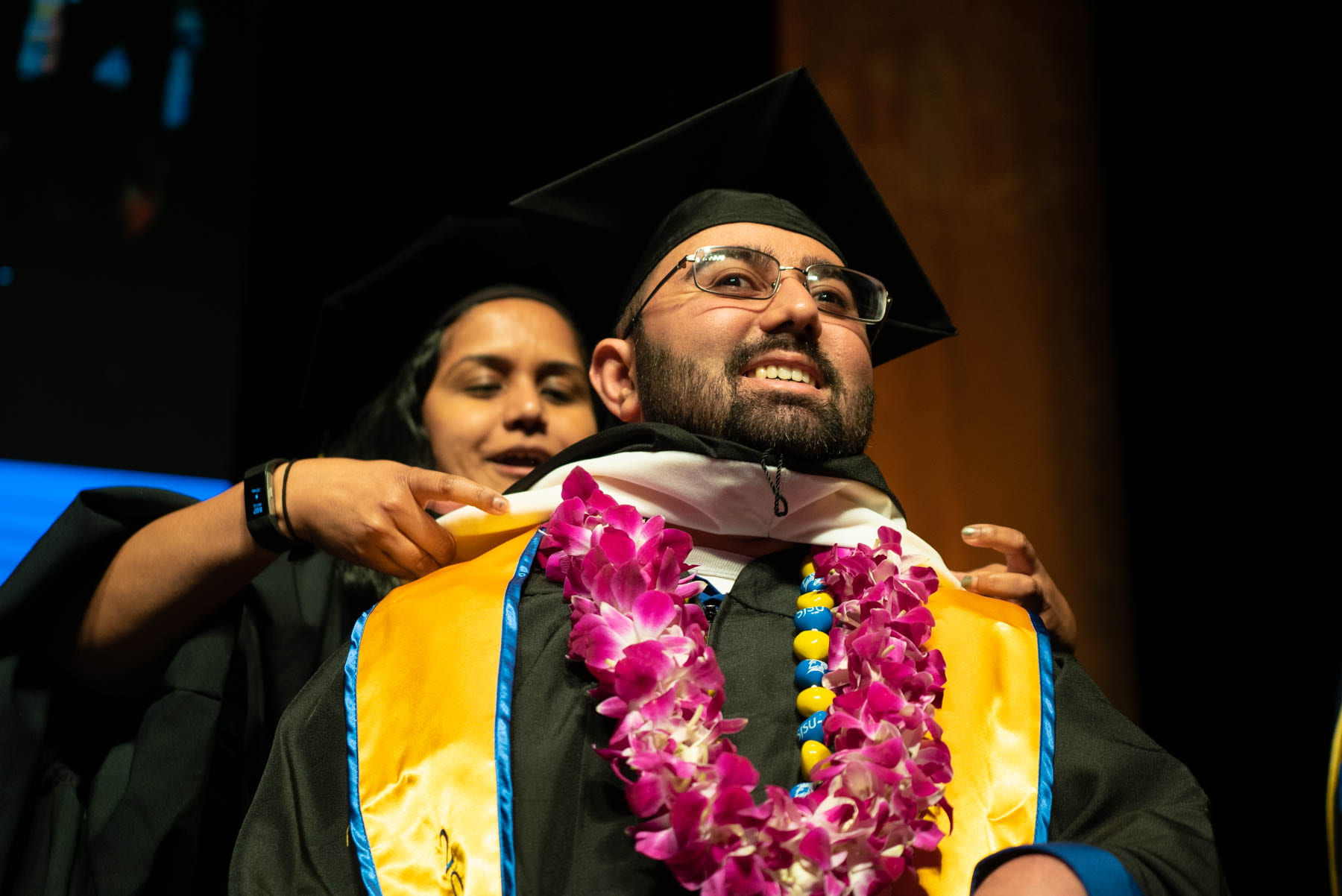 Devdutt Srivastava graduated with a master's in education with a concentration in special education, a preliminary teaching credential in mild to moderate disabilities and an autism certification from the Connie L. Lurie College of Education. Photo by Brandon Chew