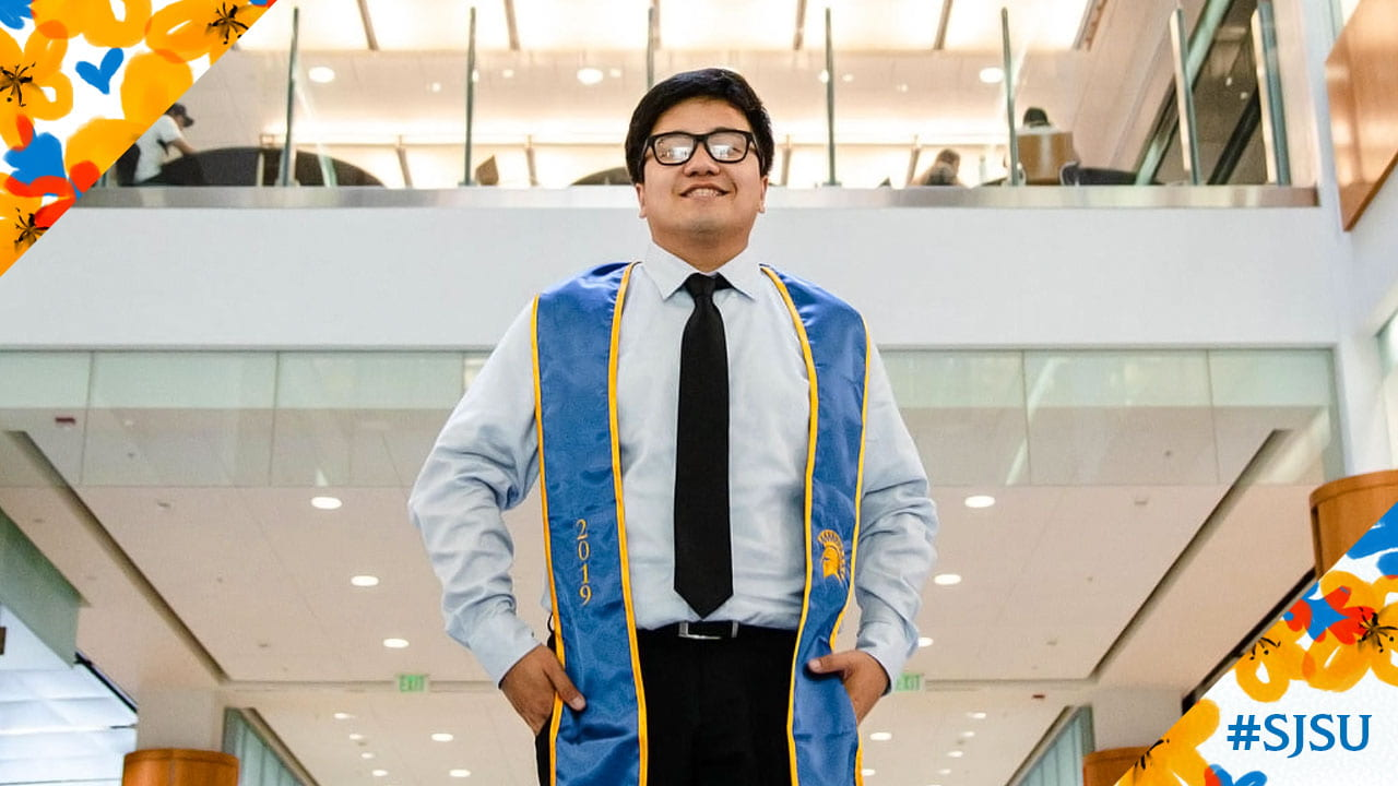 Karl Cheng, '19 Business with a concentration in corporate accounting and finance, immigrated from the Philippines to California with his family.