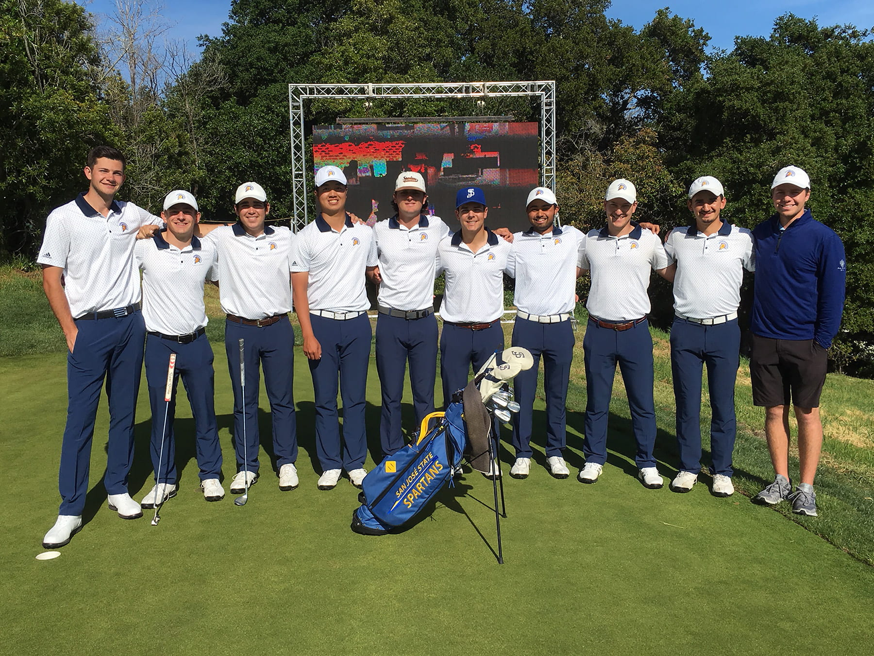 The Golf Coaches Association of America honored SJSU's Mens Golf team for its academic achievements in 2018-19.
