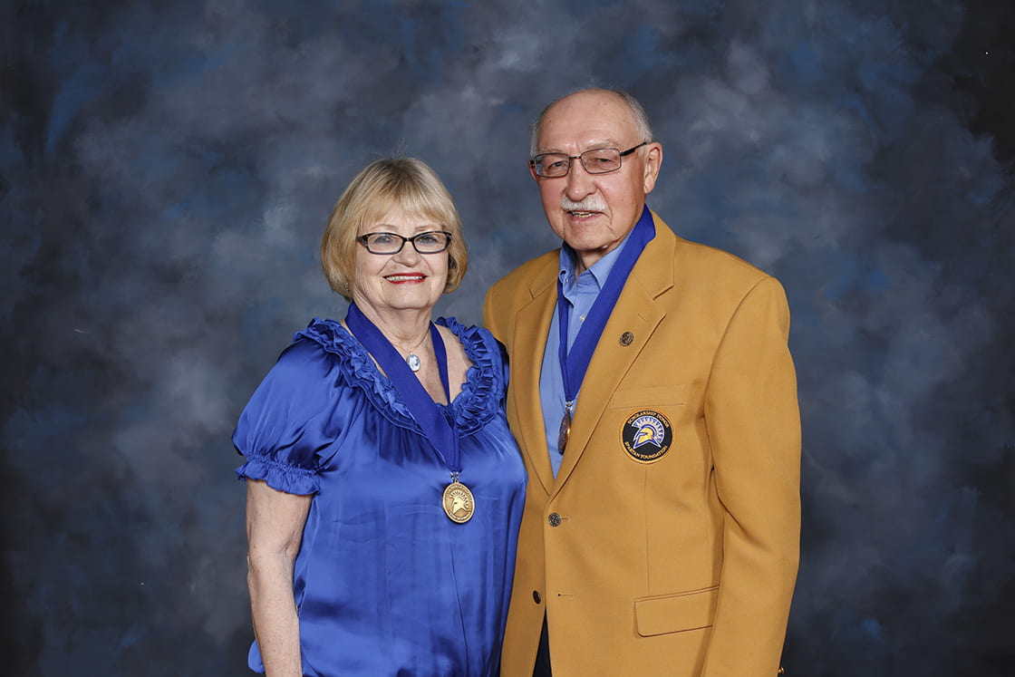 Stan Gadway, '64 Civil Engineering, and his wife Marilyn Gadway, '60 Recreation, have announced a $1million gift to the Spartan AthleticsCenter and plans to create an endowment to support the Scott Gadway Academic Center, which they established in 2003.