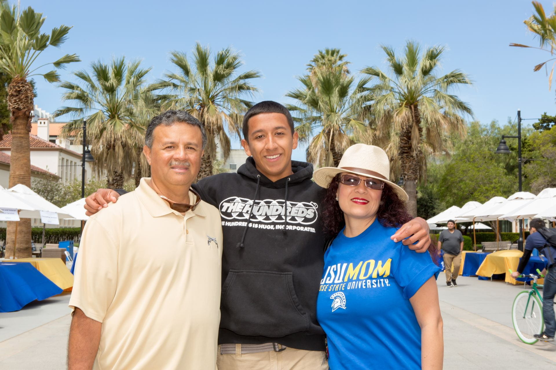SJSU is hosting Parent and Family Weekend Oct. 4-6. Photo by David Schmitz