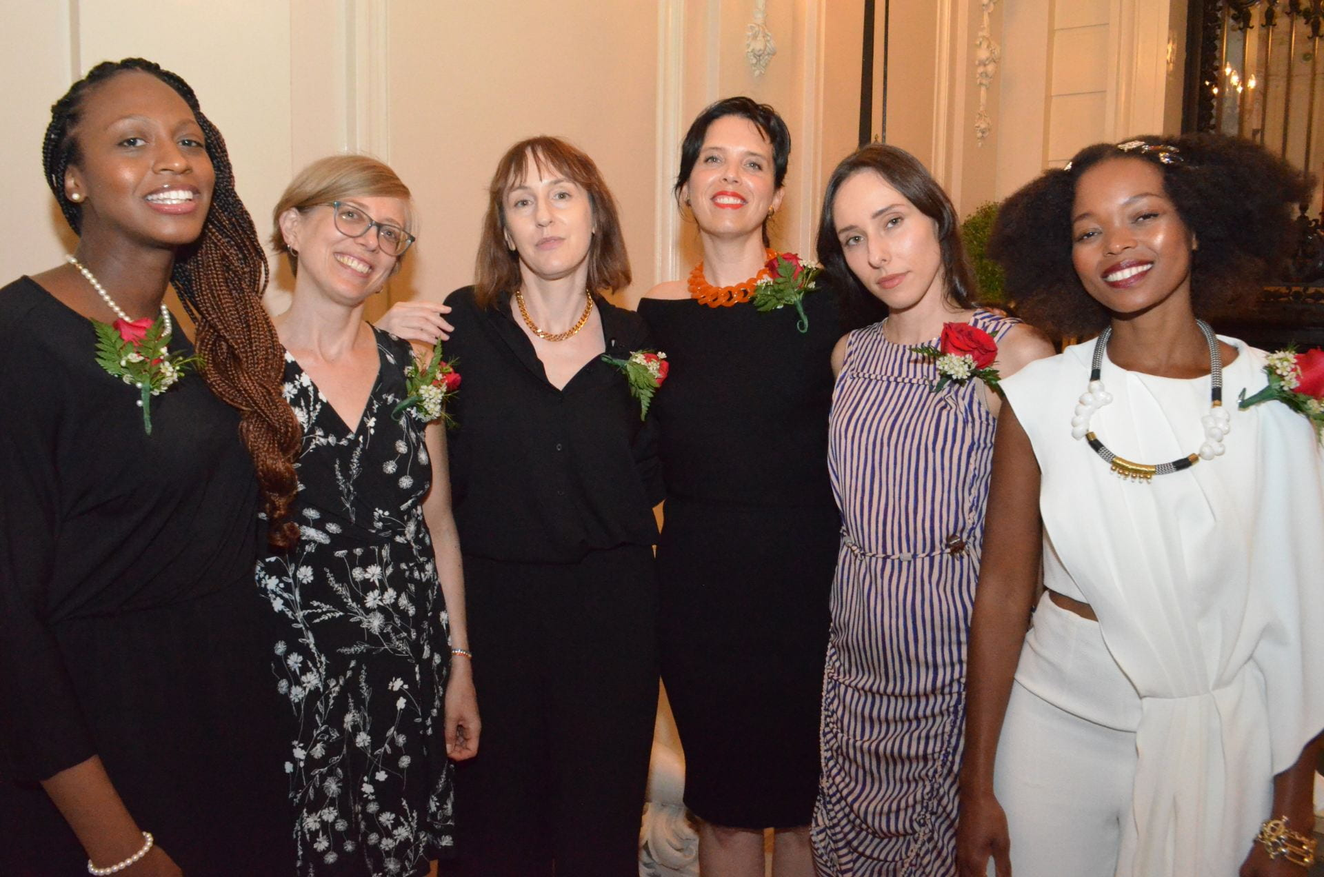 SJSU Assistant Professor Selena Anderson, left, is one of six emerging writers to receive the Rona Jaffe Writer's Award. Photo by Star Black