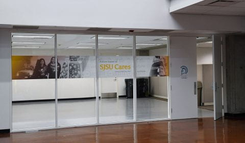 SJSU Cares offices in Clark Hall