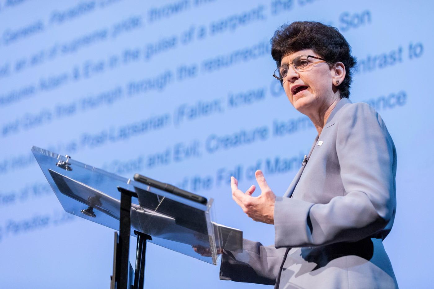 SJSU President Mary A. Papazian.