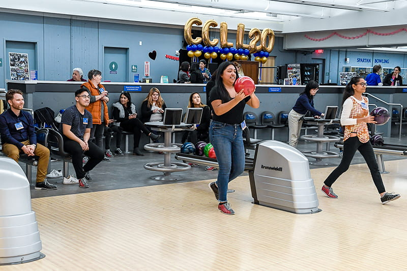 SJSU's Bowling Center.