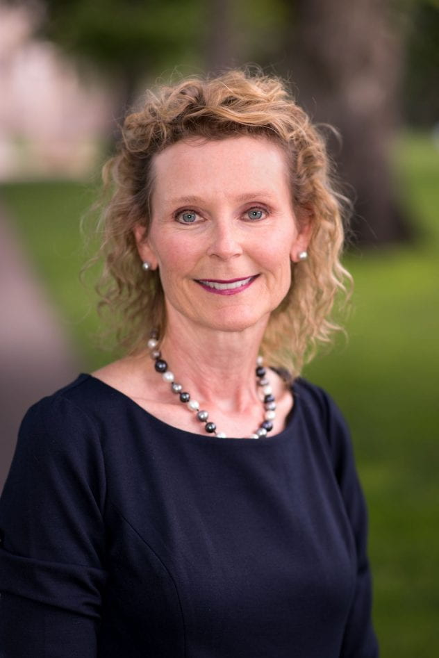New dean of the College of Health and Human Sciences Audrey Mengwasser Shillington