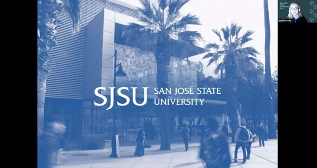 Screengrab of the SJSU Teach Online Summer Certificate Program