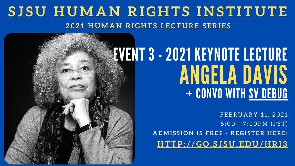 Dr. Angela Davis.