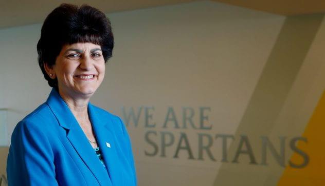 President Mary Papazian